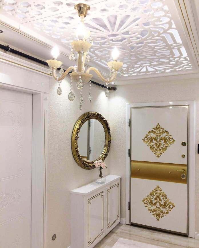 Koridor tavan dizaynlari-koridor-dekoru