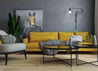 Hardal sarısı koltuk modeli