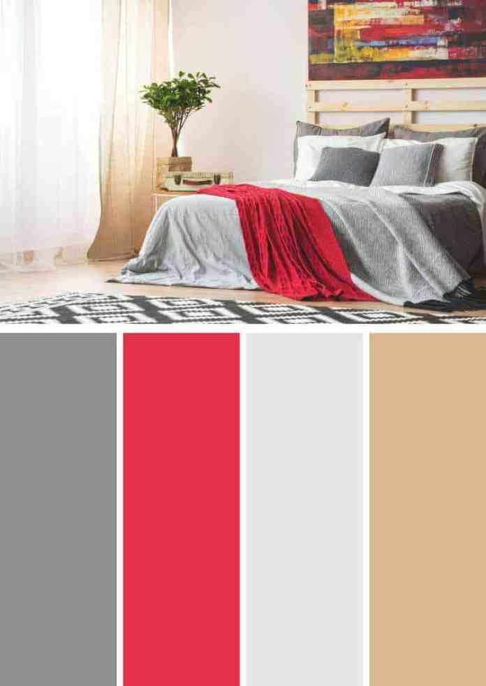 Antrasit rengi ile uyumlu renkler