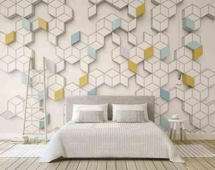 Geometrik duvar kağıdı modelleri