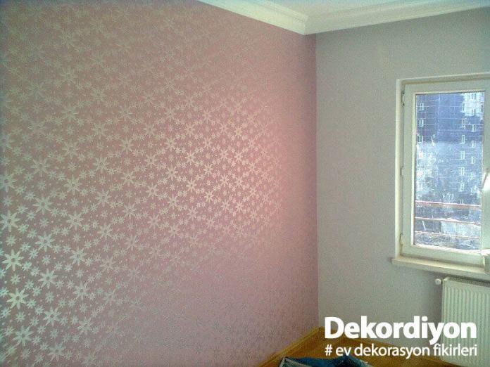 Desenli duvar boyası renkleri