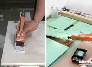 Mutfak Dolabı Boyama Teknikleri