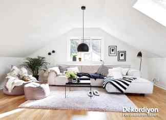 Tavan arası dekorasyonu