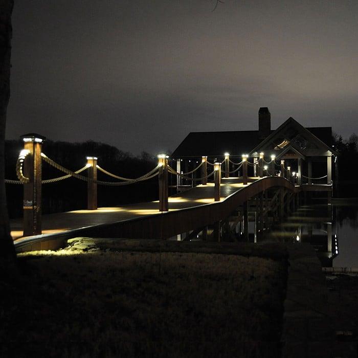 led dock lights marine dock lighting