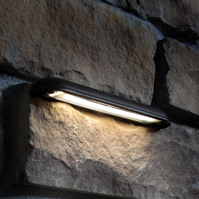 led hardscape retaining wall light