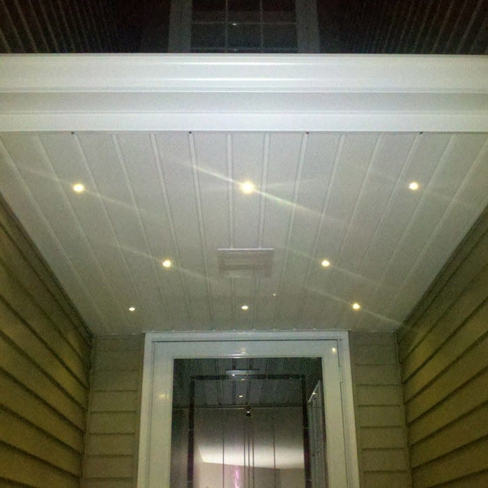 Outdoor LED Recessed Up/Down Light Kit