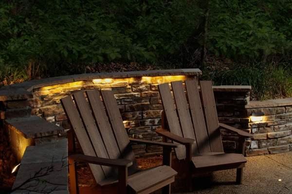 led hardscape lighting - dekor