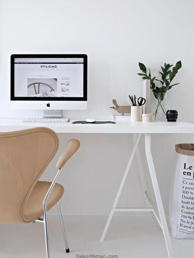 50 Great Home Office Design Ideas With Scandinavian Style