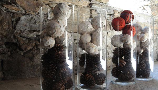 Decorazioni con Vetro Dekorwelt Vasi di Vetro ed Elementi