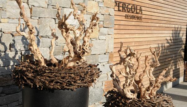 Naturmaterialien Sdtirol  Holzdekoration