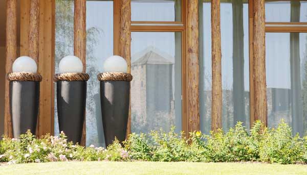 Terrassen Dekoration bertpfe  Gefe fr Innen