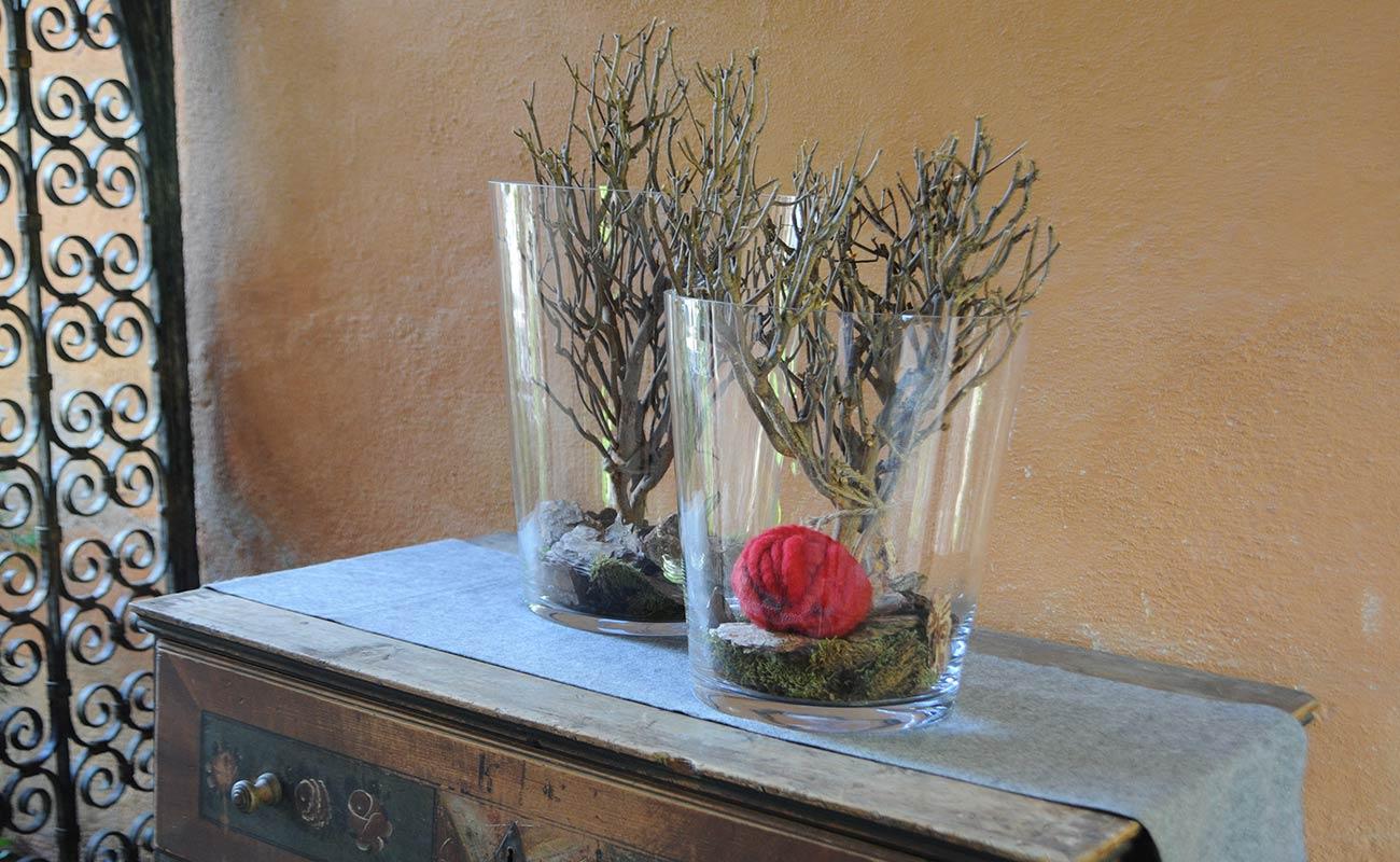 Dekoration Glas Glasvasen Glasfiguren Glastpfe bei Dekorwelt in Meran
