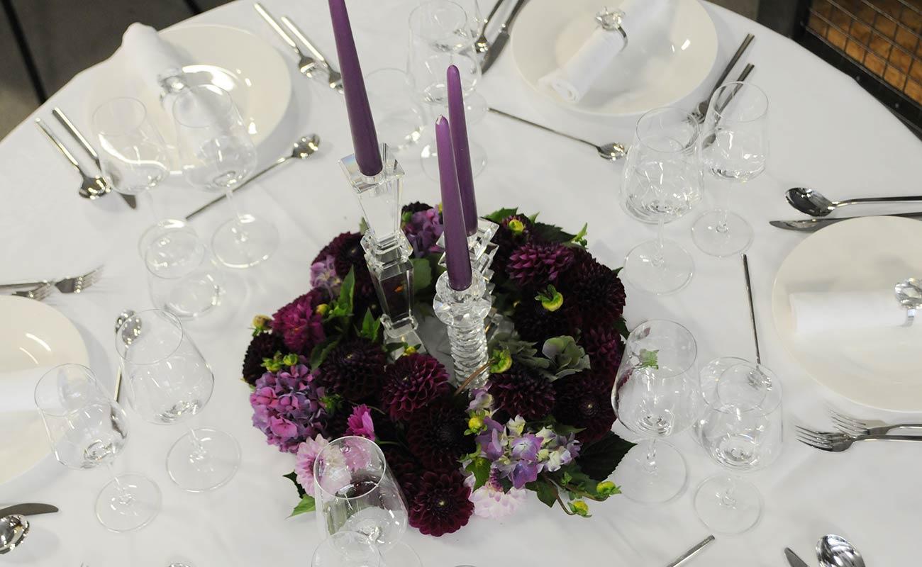 Tischdekoration Tischdeko fr Hochzeit  Taufe  Kommunion