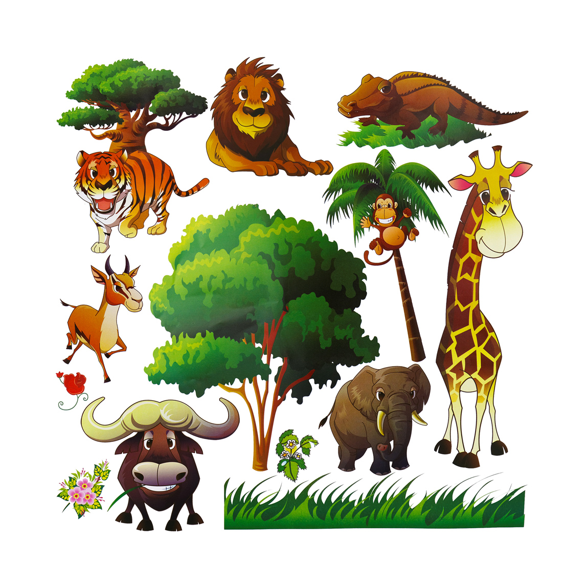 Animal Wall Decals for Kids Room Decor  Dekosh