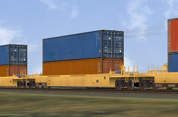Intermodal Freight Cars