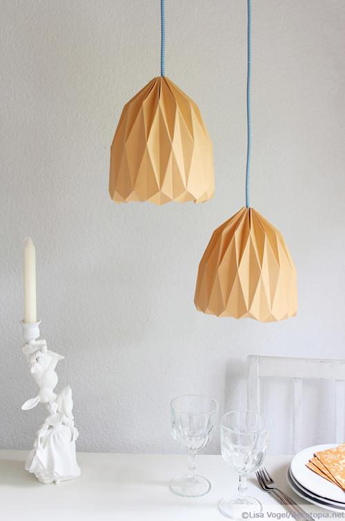 origami lampe dekotopia. Black Bedroom Furniture Sets. Home Design Ideas