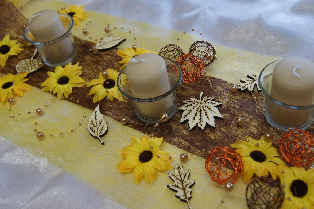 Sonnenblumen gelb  Tischdeko Shop