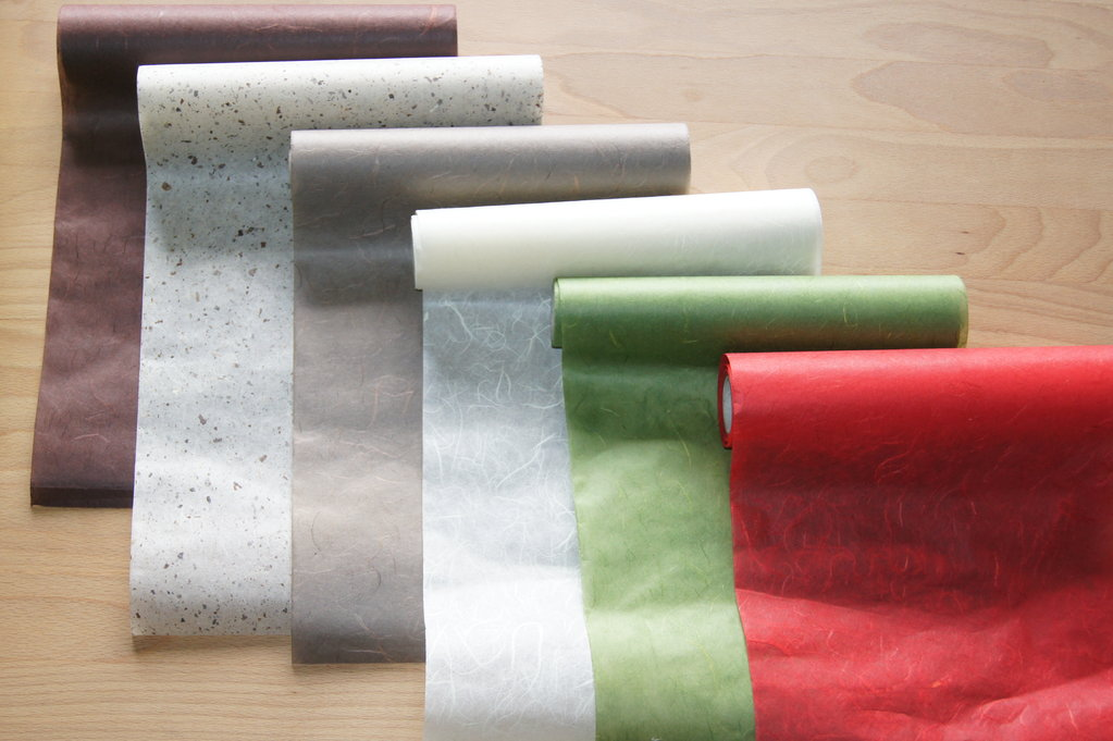 Tischlufer Papier Silk Paper Tischband