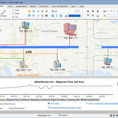 Software To Create Network Diagram Ford F250 Fuse Box Mapping Monitor Map Your