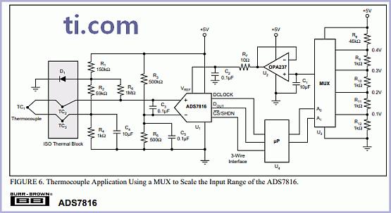 ADS7816 - 12-Bit High Speed Sampling AD