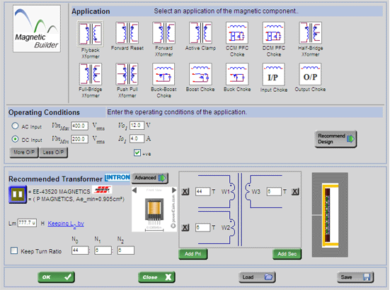 PowerEsim - Online power supply design