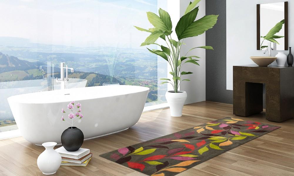 une salle de bain zen et fonctionnelle
