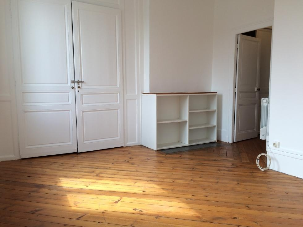 Rouen centre appartement ancien f1Bis plein sud en parfait etat  Delaitre Immobilier