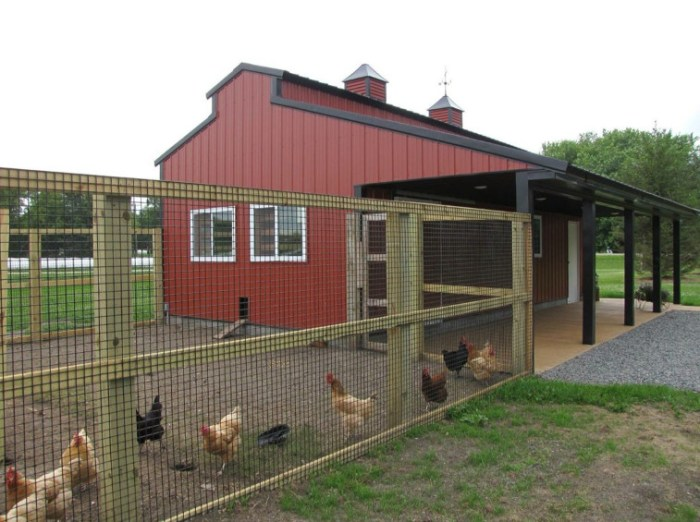 Traditional chicken house