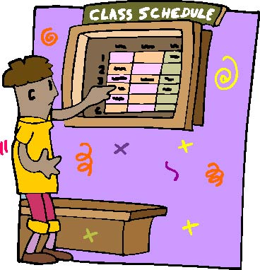 Image result for class schedule