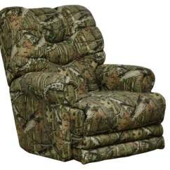 Camo Recliner Chair Travel High For 2 Year Old 28 Images Catnapper Roller Ap Green