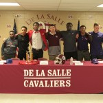 Jabial White, Quincy Cage, Josh Paul, Coach Ryan Manale, DanQuan Edwards, Myles Ward, and David Gregg Tran