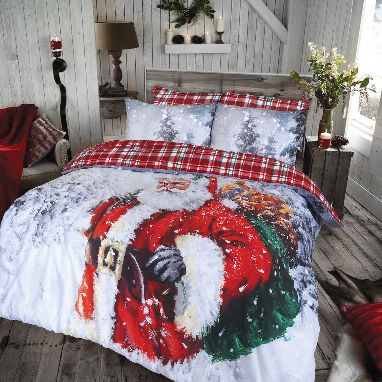 luxury christmas chair covers office qatar vintage father duvet cover set wholesale