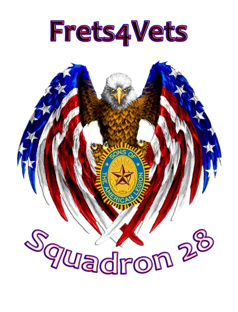 Frets 4 vets, frets for vets, delaware, sussex county,american legion,