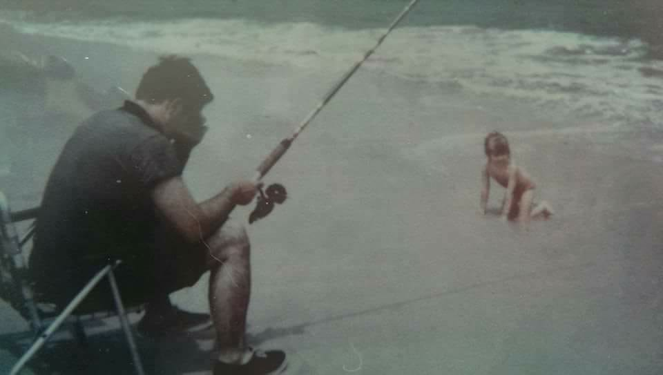 surf fishing, back in the day,