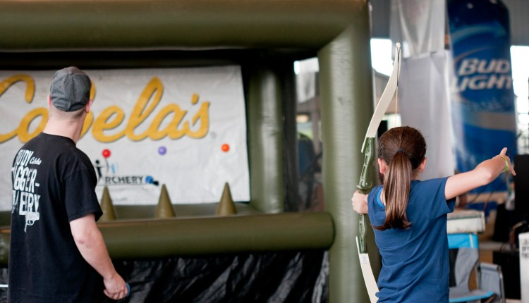 Cabela's archery for the kids