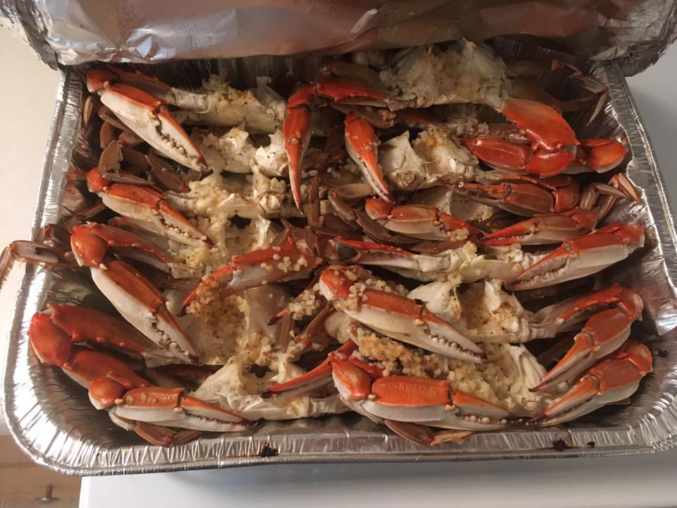 steamed crabs, PETA, ME, meat, blue claw crabs