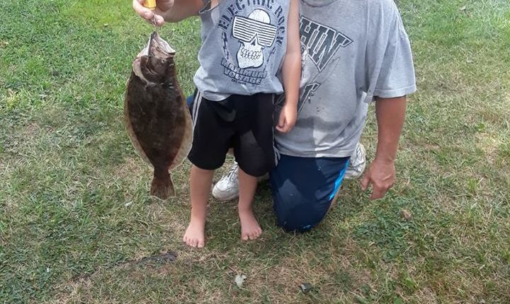 Tracy Roles and her crew hit the inland bays for flounder and smoked them