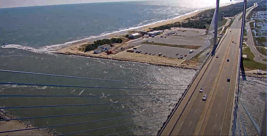 southside beach, indian river inlet,jetty, rock pile, big chill beach club, deldot web cams,delaware, sussex coutny, web cams, traffic cameras, route 1, charles w cullen bridge,