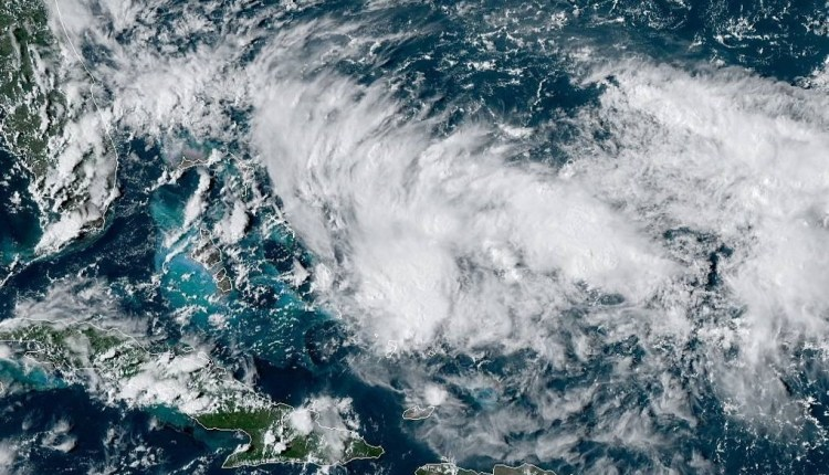 live satellite view of 95L