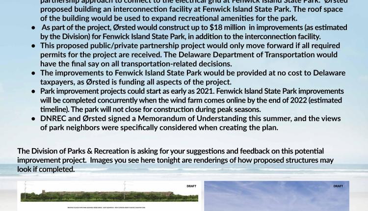 Fenwick Island Project board 7