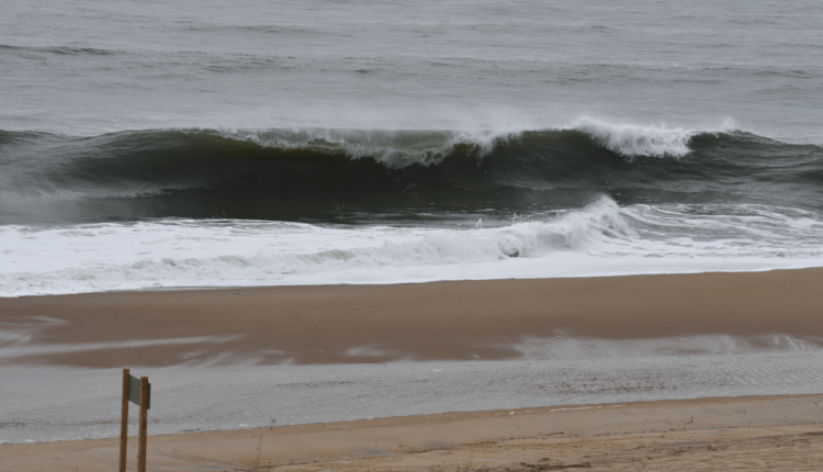 8 foot waves from that 15 second swell.