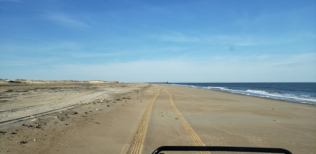 point crossing, the point, cape henlpen state park, delaware surf fishing,