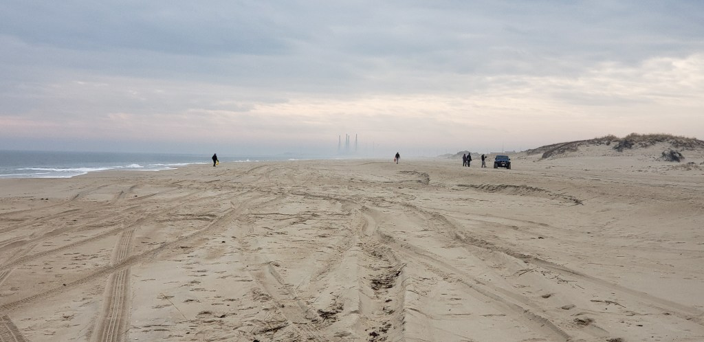 DSF beach clean up, delaware surf fishing, delaware state parks