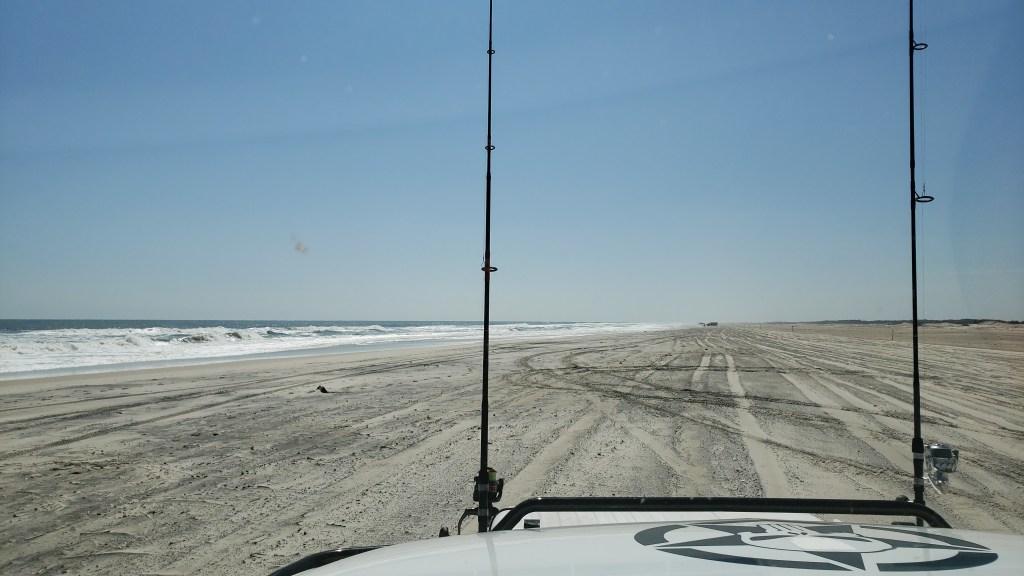 assateague island national seashore, coronavirus, covid 19, maryland, delaware surf fishing, tahoe
