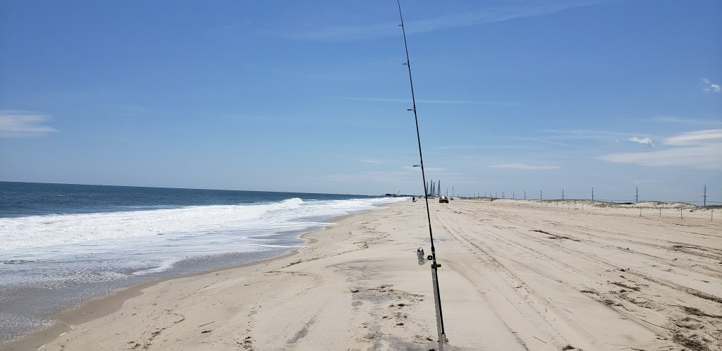 delaware surf fishing, conquest beach, drive on beaches, delaware state parks