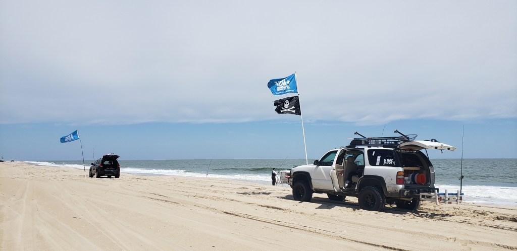 delaware surf fishing, social distancing, covid 19, delaware state parks, surf fishing