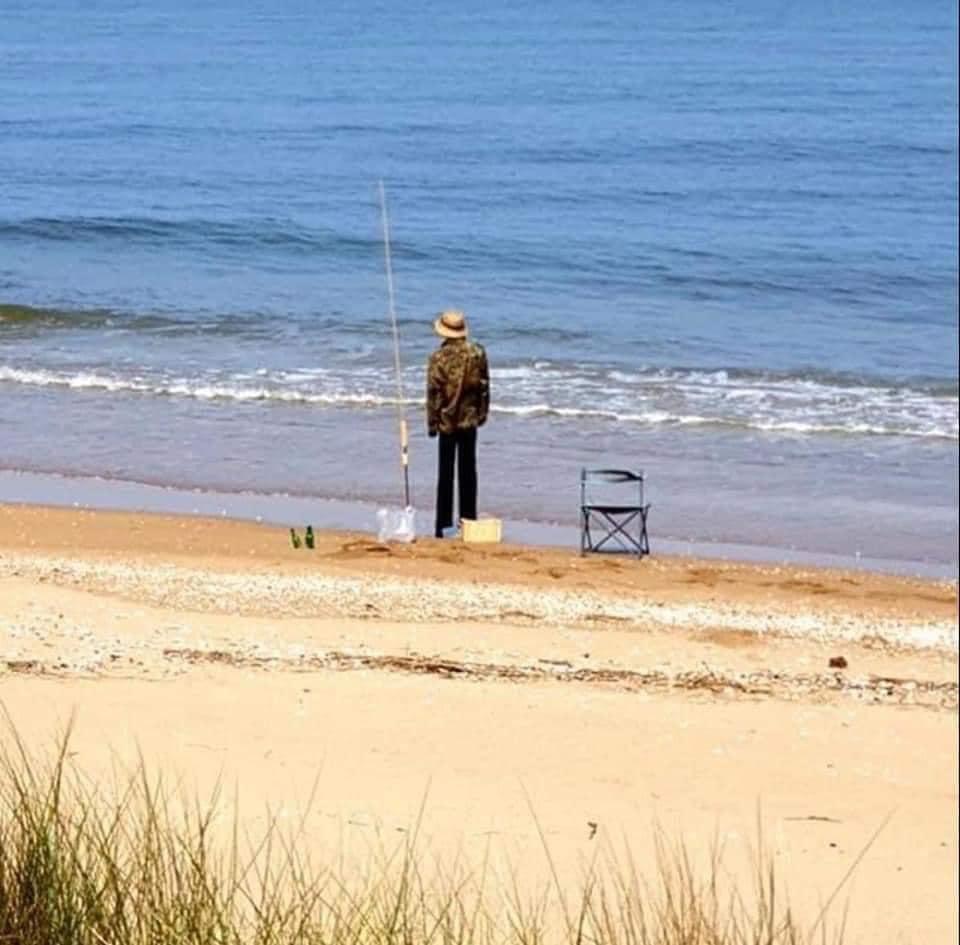surf fishing dummy, coronavirus pranks, police pranks, australia