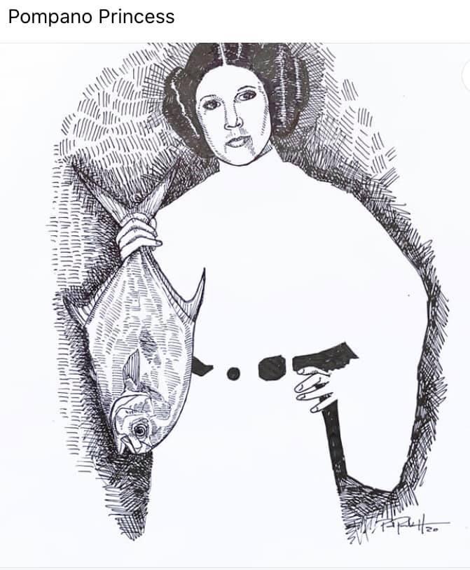 The Pompano Princess, star wars, pompano