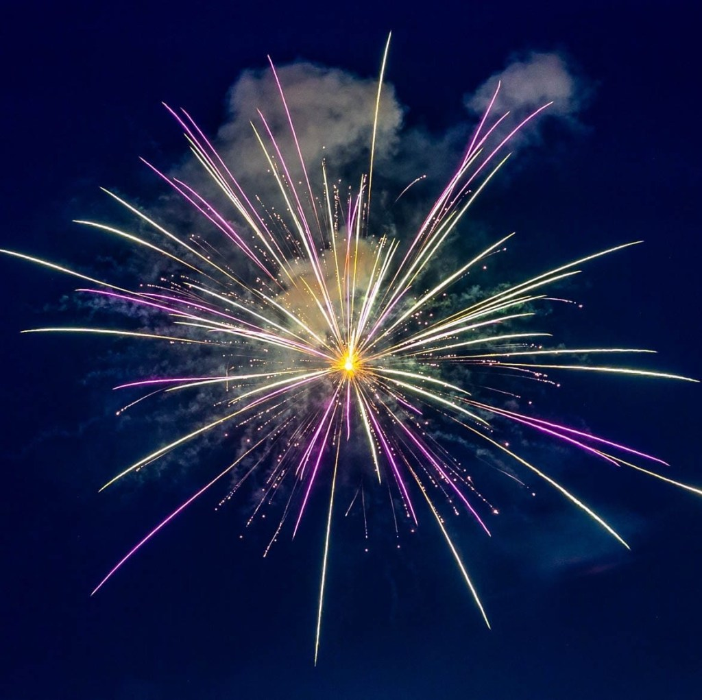 rehoboth beach, fireworks, fourth of july 2021