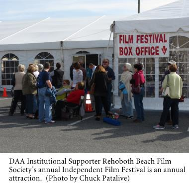 Rehoboth Beach Film Society's annual Independent Film Festival